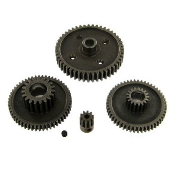 redcat RS10 Steel Gear Set with 10T Pinion. (4 Gears) (1 Set needed for each axle)
