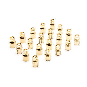Dynamite Gold Bullet Connector Set, 8.0mm (10)