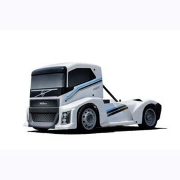 hobao HOBAO HYPER EPX 1/10 SEMI TRUCK ON-ROAD ARR W/ PEARL WHITE PAINT BODY
