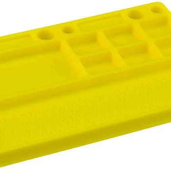 JCO Dirt Racing: Parts tray (rubber material) Yellow