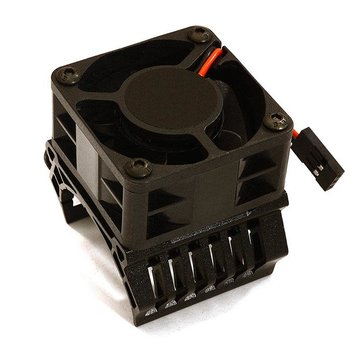 Integy 36mm Motor Heatsink+40x40mm Cooling Fan 16k rpm for Most 1/10 On-Road & Off-Road