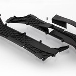 Traxxas 6420 Tunnels Left/Right Vent Cover 3x8mm XO-1