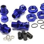 Integy 17mm Hex Wheel Hub,+18mm,Bl:TMX,RVO