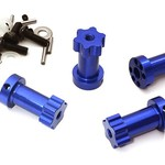 Integy 12mm Hex Extended Wheel (4) Hub 22mm Thick for Most 1/10 Traxxas