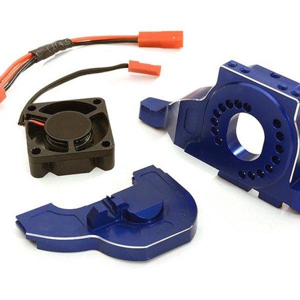 Integy Alloy Motor Mount w/ Cooling Fan for TRX-4 Scale & Trail Crawler