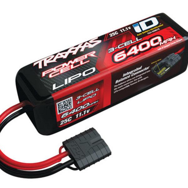 Traxxas 25C 11.1V 6400mAh Lipo Battery , w/TRA ID
