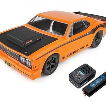 ASC Team Associated DR10 RTR Brushless Drag Race Car Combo (Orange) w/2.4GHz Radio, DVC, Battery & Charger