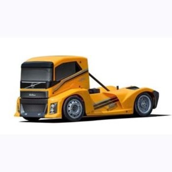HOA HOBAO HYPER EPX 1/10 SEMI TRUCK ON-ROAD ARR W/ YELLOW PAINT BODY