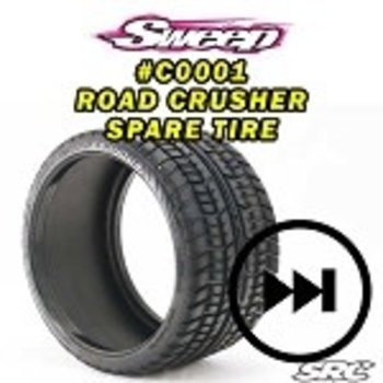 SWEEP Monster Truck Road Crusher Belted tire 1pc