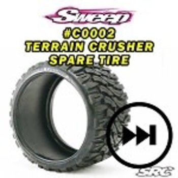 SWEEP Monster Truck Terrain Crusher Belted tire 1pc
