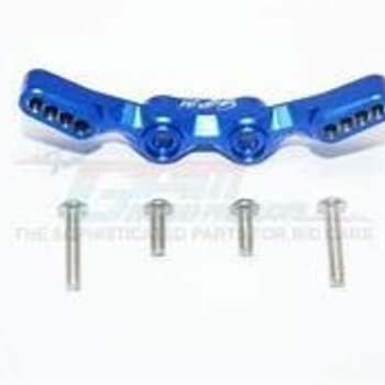 GPM GPM Blue Aluminum Front Shock Tower for 4-Tec 2.0