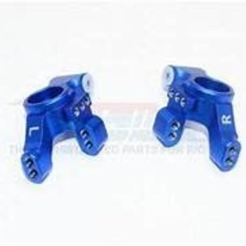 GPM GPM RACING TRAXXAS 4-TEC 2.0 BLUE ALUMINUM REAR KNUCKLE ARM SET GT022-B