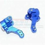 GPM GPM RACING TRAXXAS 4-TEC 2.0 BLUE ALUMINUM FRONT KNUCKLE ARM SET GT021-B