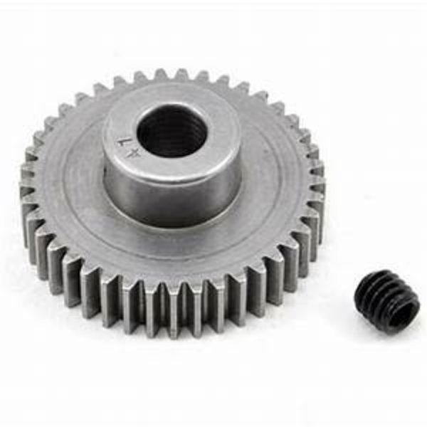 2041 Pinion Gear Hard Machined 48P 41T 5mm Bore