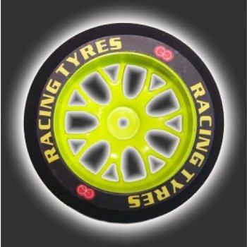 GQ PRODUCT GQ Front 30mm Shore 37 Yellow Wheel