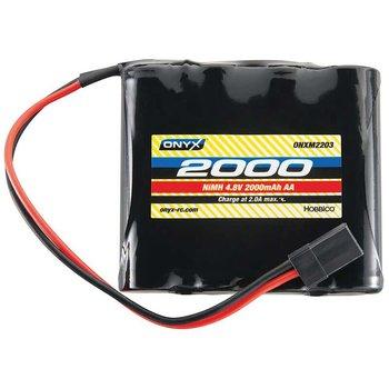 ONYX 4.8V 2000mAh NiMH AA Flat Receiver Battery: Universal Receiver
