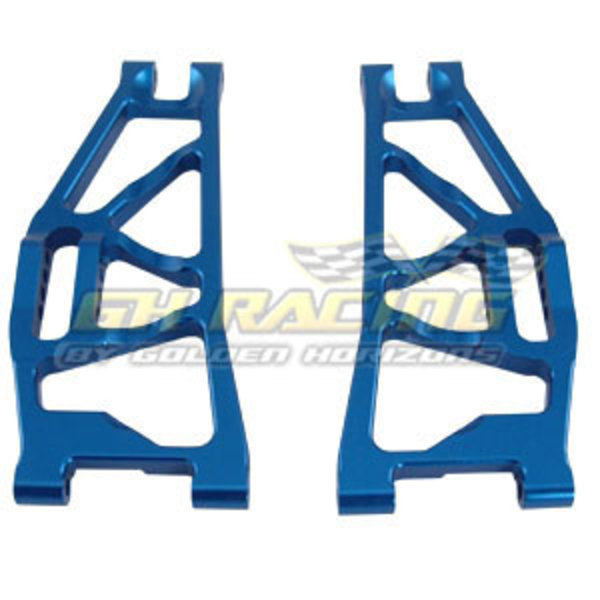 GH RACING 02157 ALUM REAR LOWER ARMS BLU