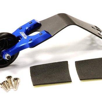 Integy Evolution-3 Wheelie Bar for Electric Slash 2WD Stampede 2WD Rustler 2WD Bandit T8086BLUE inc. shipping