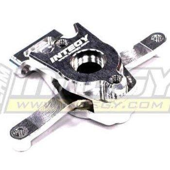 Integy Billet Machined Steering Bell Crank for Traxxas 1/16 E-Revo, Slash, Summit, Rally T3443SILVER
