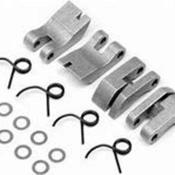 HPI Racing Aluminum Quadra Clutch Shoe/Spring Set Savage XL
