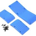 RPM 80775 Skid Plate Set T-Maxx/E-Maxx Blue (3)