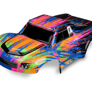 Traxxas Body, LaTrax Desert PreRunner, color burst (painted)/ decals (Grd ship inc lower 48)