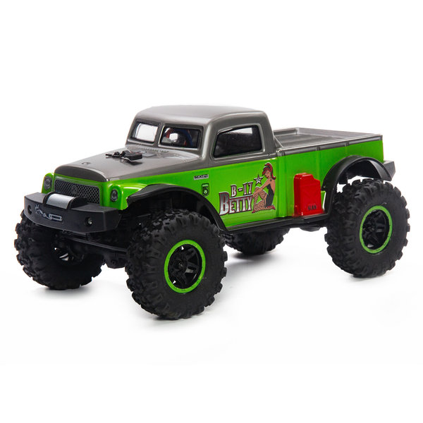 Green 1/24 SCX24 B-17 Betty Limited Edition 4WD RTR  UPS shipping included USA only