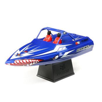 Sprintjet 9-inch Self-Right Jet Boat RTR, Blue