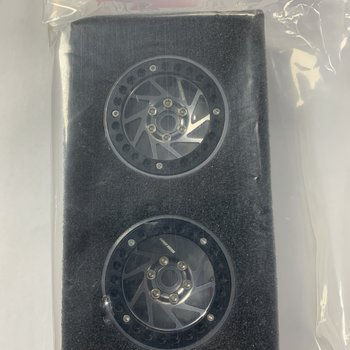 SWEEP SWP9194 Crawler Beadlock 1.9 silver Aluminium Wheel 2pcs set