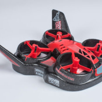 Hover Cross HoverCross Drone/Hovercraft, RTF, Red