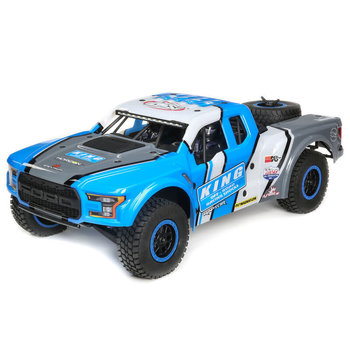 LOSI King Shocks Ford Raptor Baja Rey 1/10th 4wd DT RTR (Shipping will be billed separately for online orders)
