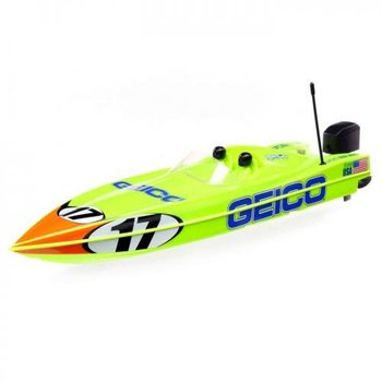 Miss Geico 17 Power Race DeepV w/SMART Chg&Batt:RTR ship inc lower 48