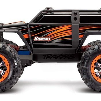 Traxxas Summit: 1/10 Scale 4WD Electric Extreme Terrain Monster Truck with TQi Traxxas Link  Enabled 2.4GHz Radio System
