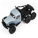 FMS 1/18 Atlas 6x6 Rock Crawler RTR Blue (ship included)