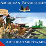 3201 1/32 Revolutionary War American Militia Men (20)