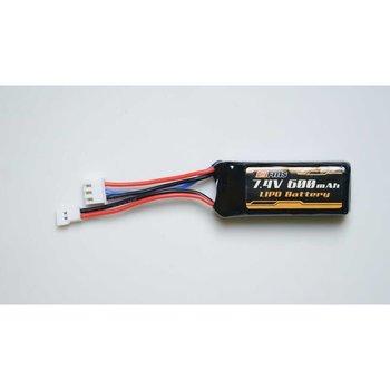 FMS Battery 7.4v 600mAh Lipo: Atlas Katana
