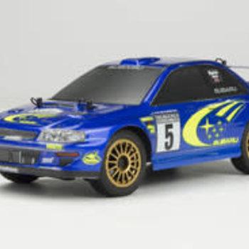 Carisma GT24 1/24 Scale Micro 4WD Brushless RTR, Subaru WRC