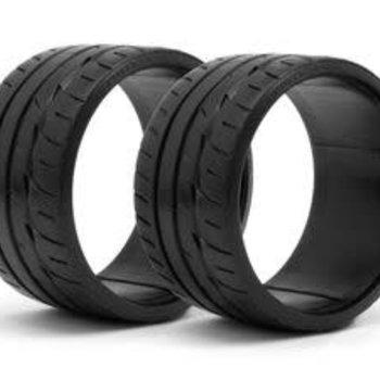 HPI Racing LP35 T-Drift Tire, Bridgestone Potenza RE-11, (2pcs)
