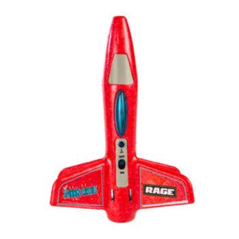 Rage R/C Spinner Missile - Red Electric Free-Flight Rocket