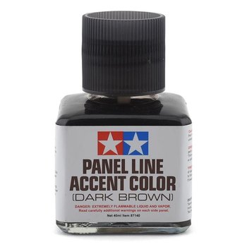 Tamiya Tamiya Panel Line Accent Color (Dark Brown)
