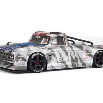 arrma INFRACTION 6S BLX 1/7 All-Road Truck Silver (Ground Shipping Included in Online Price To The Lower 48 States)