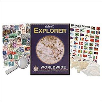 H.E Harris & Co. Worldwide Explorer Kit Paperback