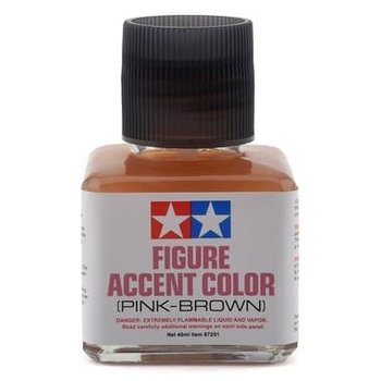 Tamiya Tamiya Panel Line Accent Color (Pink-Brown) (40ml)