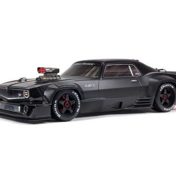 arrma 1/7 FELONY 6S BLX Street Bash All-Road Muscle Car RTR, Black (Shipping included in online price to the lower 48 states)