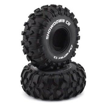 "DuraTrax Showdown CR 2.2""Crawler Tire C3 (2)"