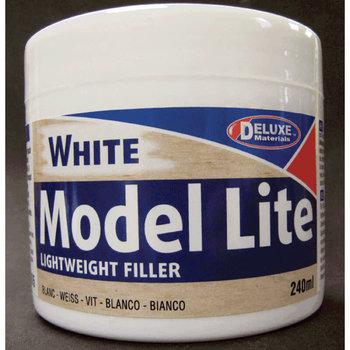 Deluxe Materials Model Lite Balsa Filler, White: 240cc