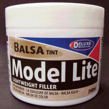 Deluxe Materials Model Lite Balsa Filler, Balsa Brown: 240cc