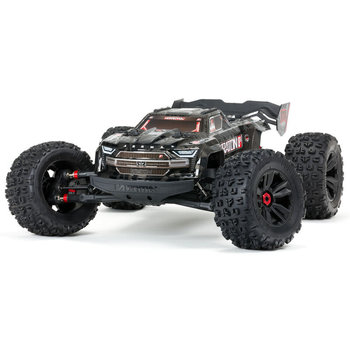 arrma KRATON 1/5 4WD EXtreme Bash Roller Black (Ground shipping included in online price to the lower 48 states)