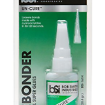 Bob Smith Industries BSI-161H UN-CURE Super Glue Debonder, 1 oz,Clear (.2-Pack)