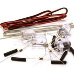 Integy 10mm LED Light Assorted Kit DIY LEDs Set for Scale Model C26332WHITE
